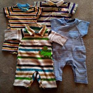 Newborn lot rompers - 4 peices
